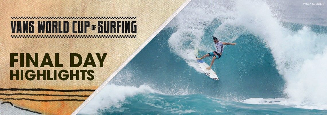 19a64500d0 Jordy Smith Claims First Hawaiian Win at Vans World Cup