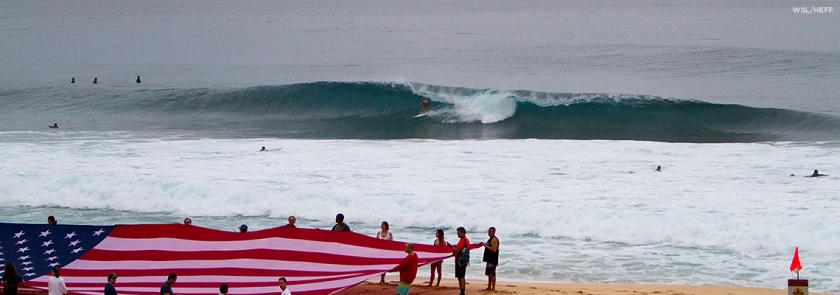 Lay Day at Billabong Pipe Masters in Memory of Andy Irons