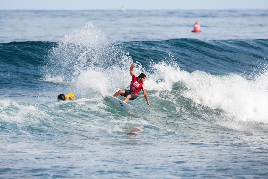 Dion Atkinson (AUS) is into the Semi Finals.   © ASP / Cestari