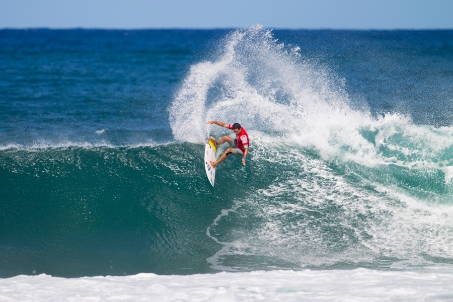 Adriano De Souza placed equal fifth.   © ASP / Kirstin