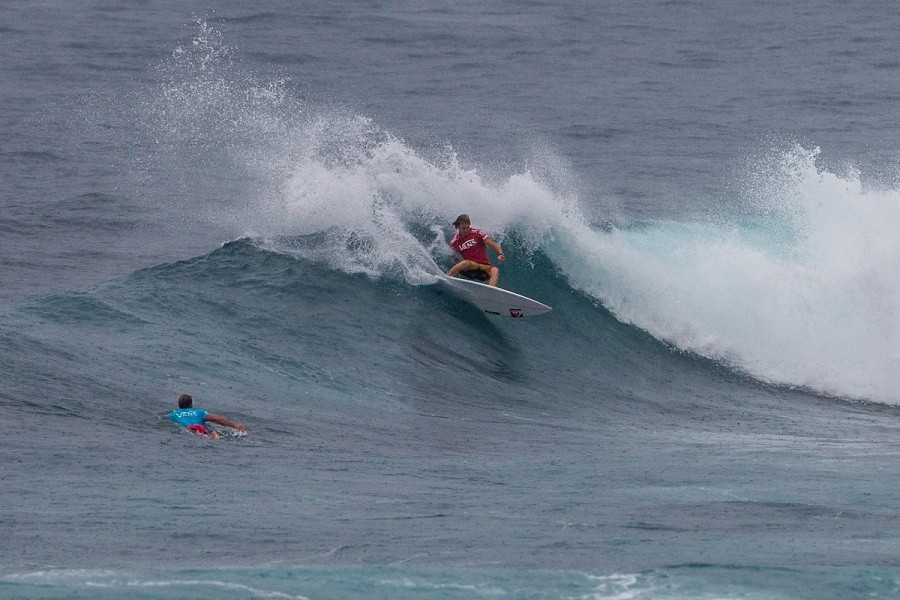 Beyrick De Vries eliminated in equal 17th place.   © ASP / Kirstin