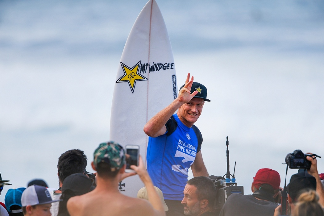 Bede Durbidge.   © WSL / Heff