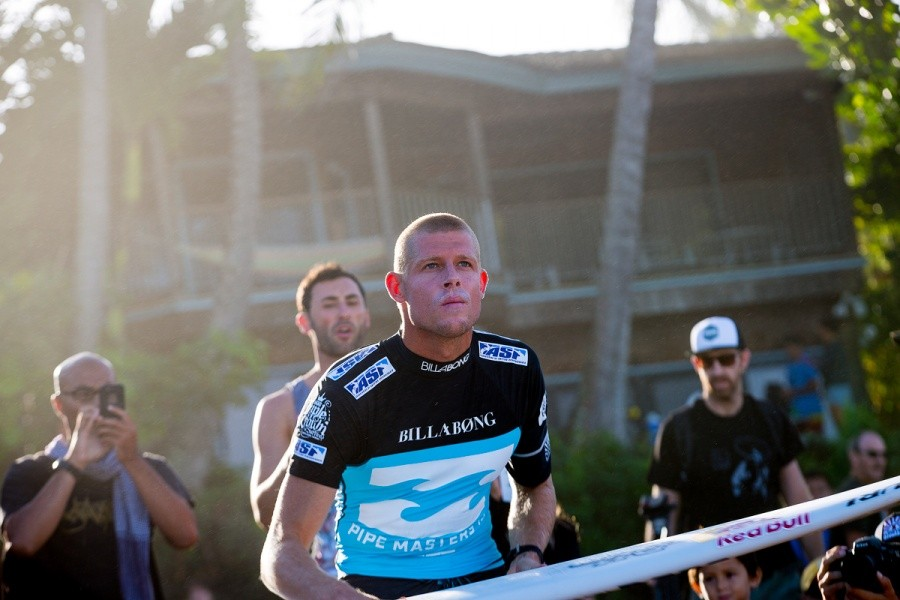 Mick Fanning determined to clinch a third ASP World Title.   © ASP / Kirstin