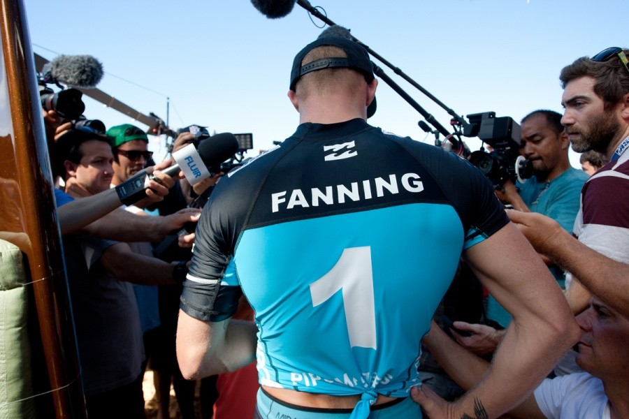 Number one surfer in the world - Mick Fanning (AUS).   © ASP / Cestari