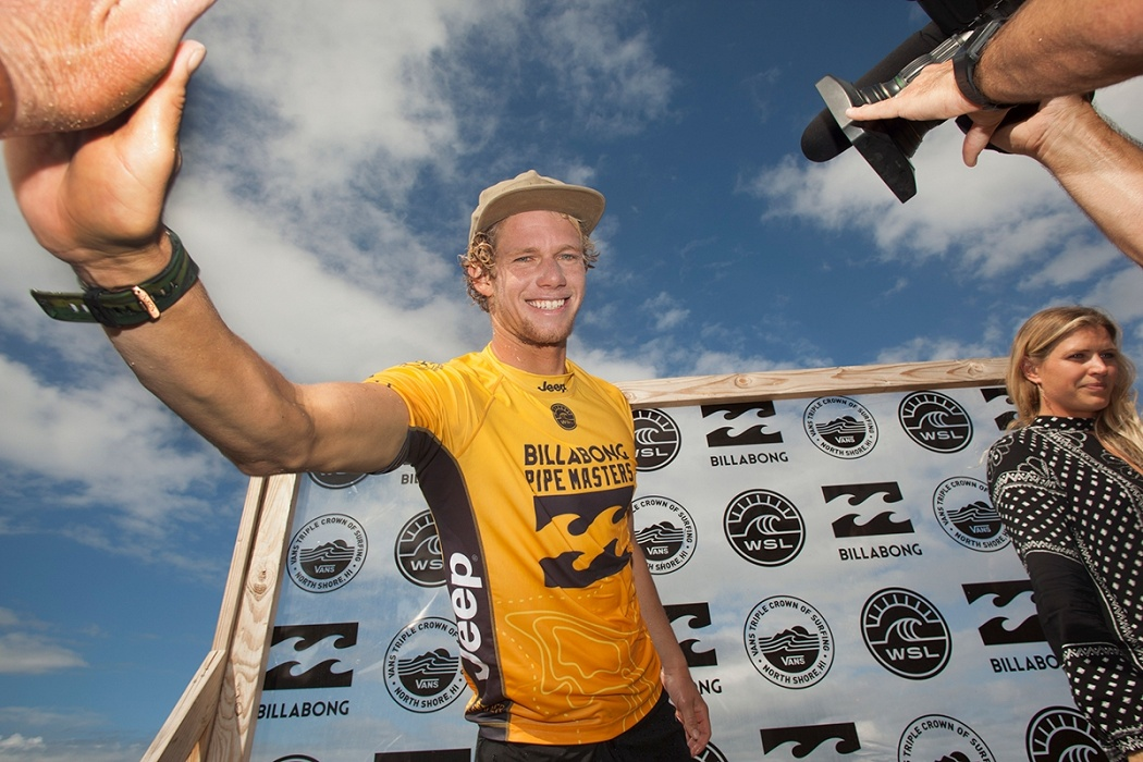 World's number 1 John John Florence.   © WSL / Sherman