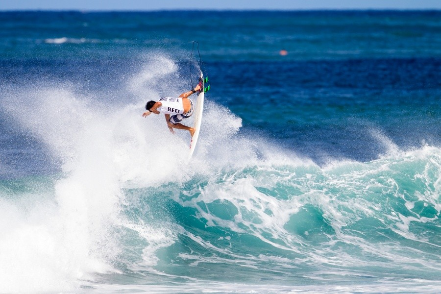 Jeremy Flores placed third.   © ASP / Kirstin