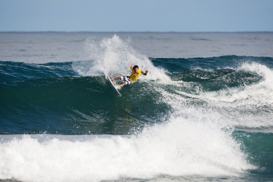 Jeremy Flores (FRA) advances to the Semi Finals.   © ASP / Cestari