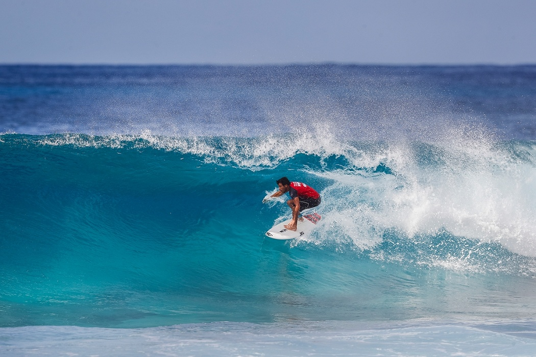Frenchman Jeremy Flores.   © WSL / Poullenot