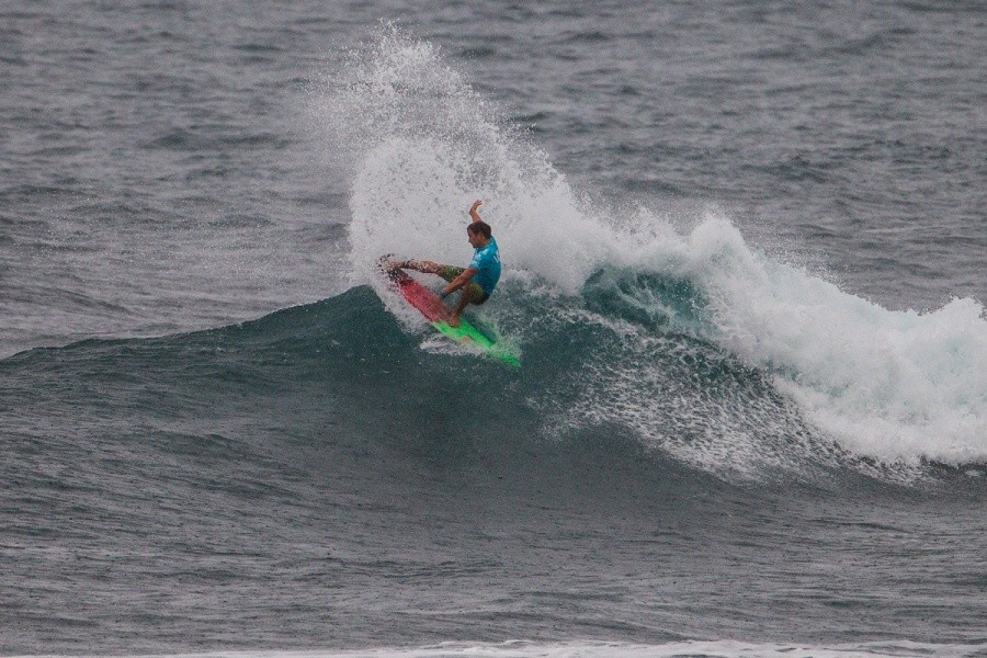 Kiron Jabour secured his spot into the quarterfinals.   © ASP / Kirstin