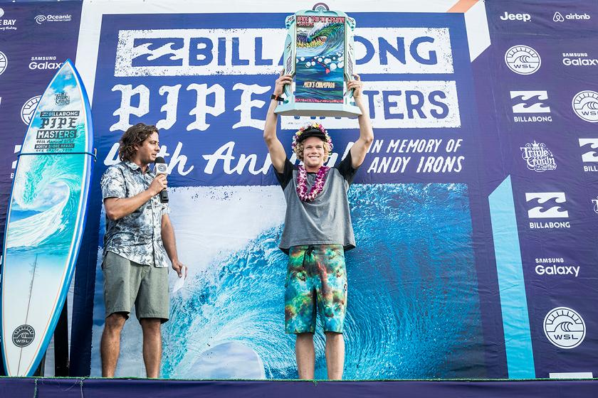Past Vans Triple Crown of Surfing Champions