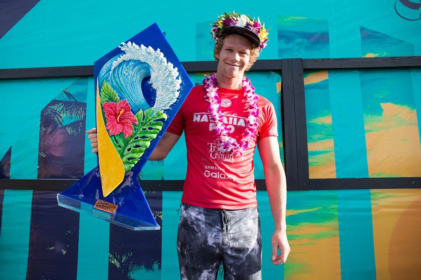 John John Wins Hawaiian Pro, Leads Vans Triple Crown