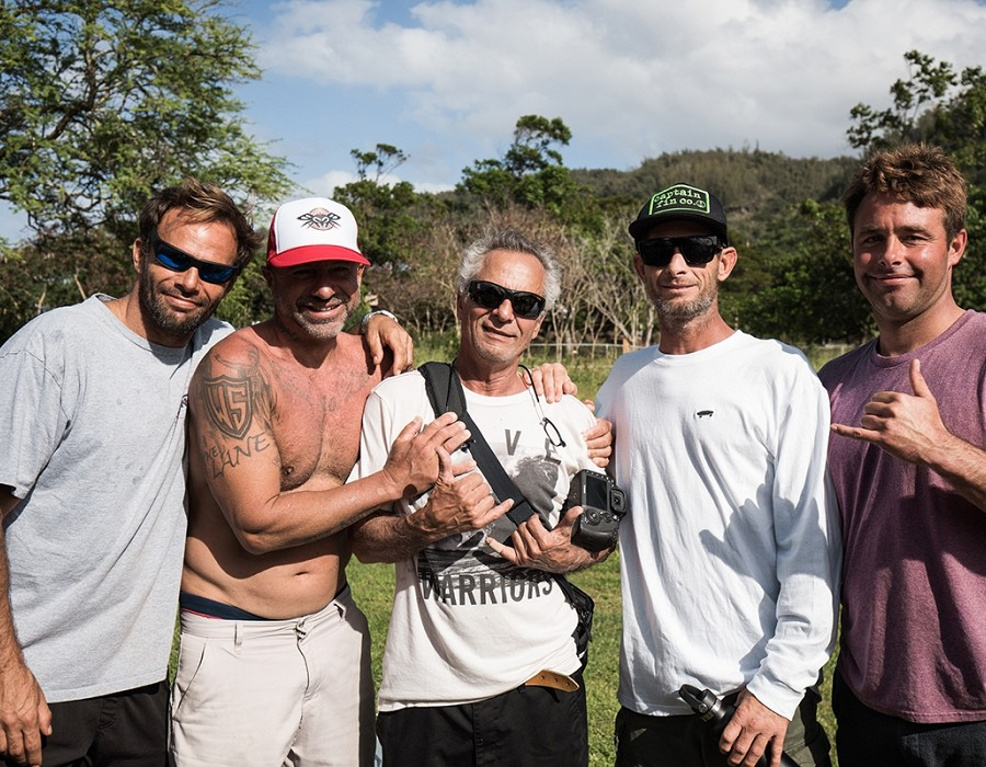 Nathan and Herbie Fletcher, Joel Tudor, Anthony Tashnick.   © Jimmy Wilson