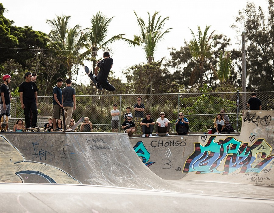 Vans Duct Tape Skate Jam.   © Jimmy Wilson