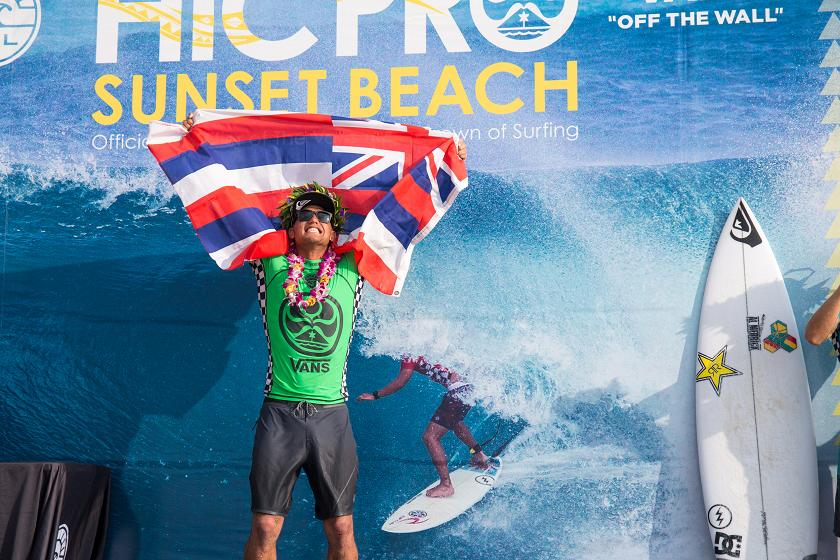 Zeke Lau Earns Second Win at HIC Pro