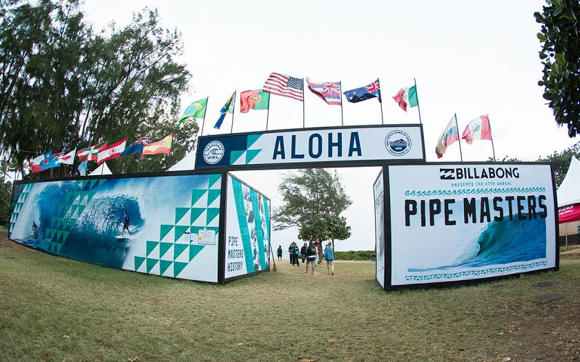 No Competition Today at the Billabong Pipe Masters