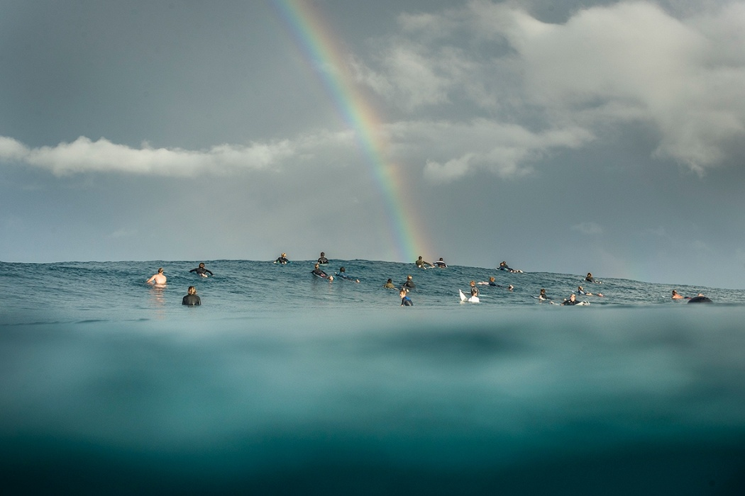Rainbow galore.   © WSL / Poullenot