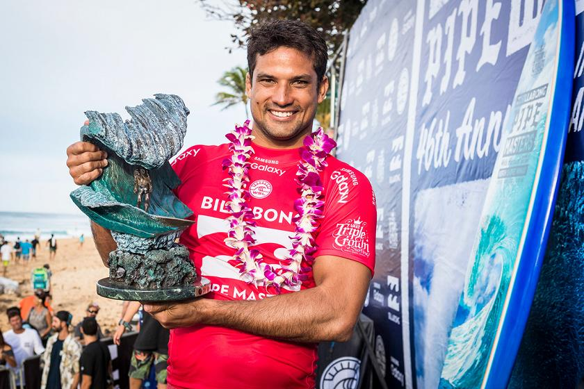 Michel Bourez Wins Billabong Pipe Masters in Memory of Andy Irons
