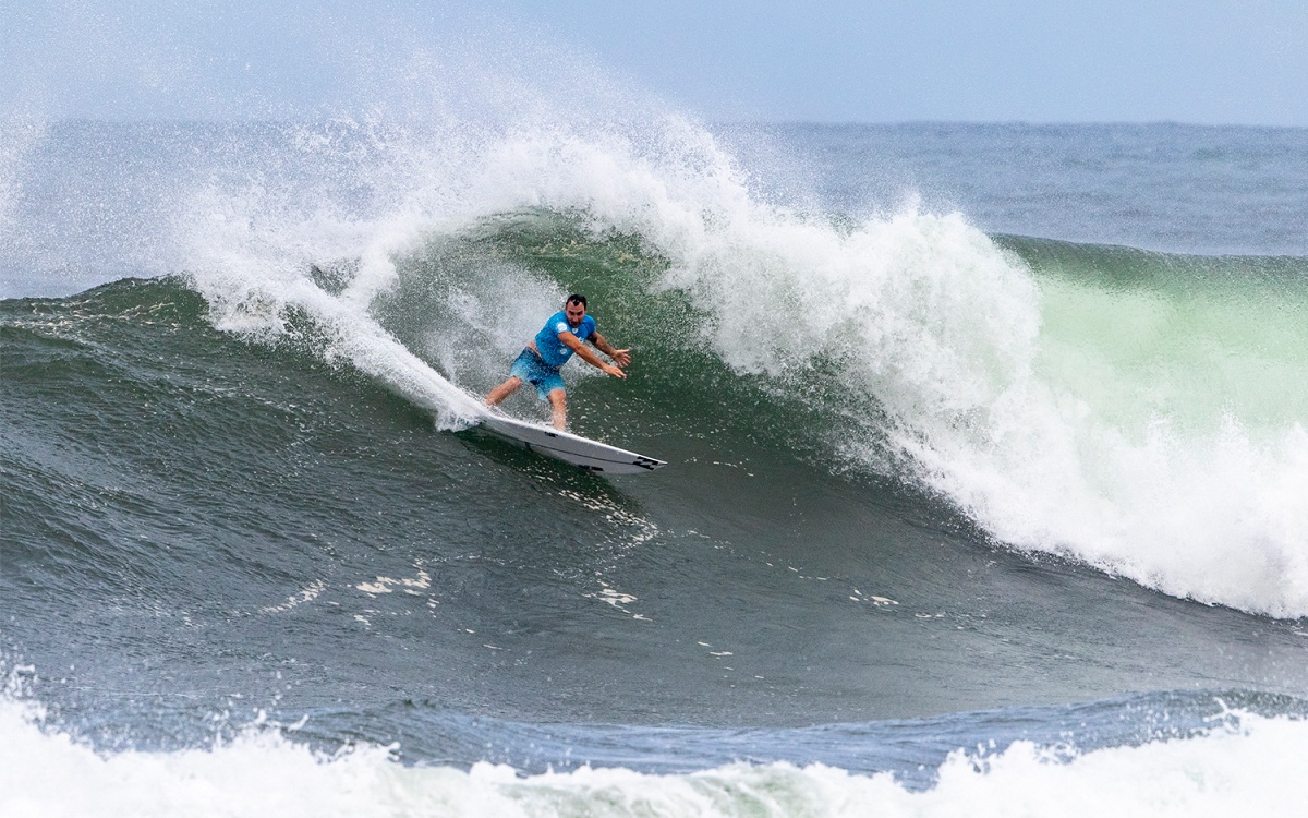 Quarterfinalists Determined for Hawaiian Pro in Powerful Haleiwa Surf