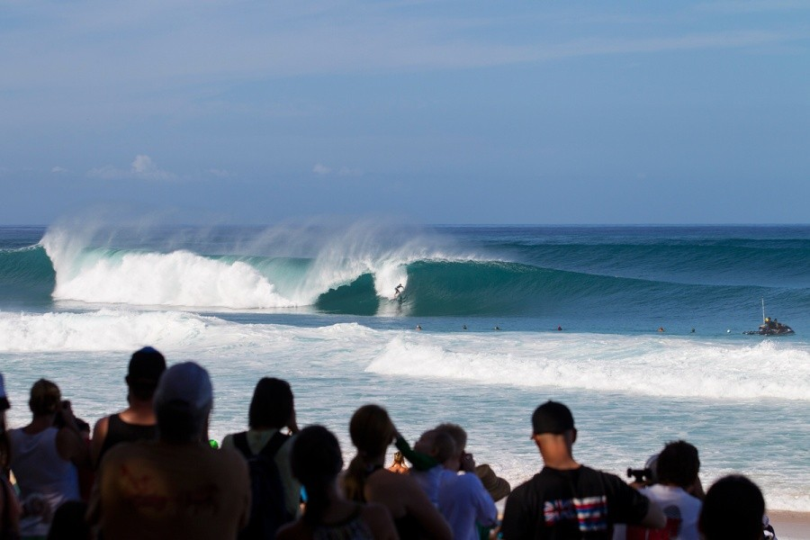 Pipeline delivered on the final day of competition.   © ASP / Kirstin