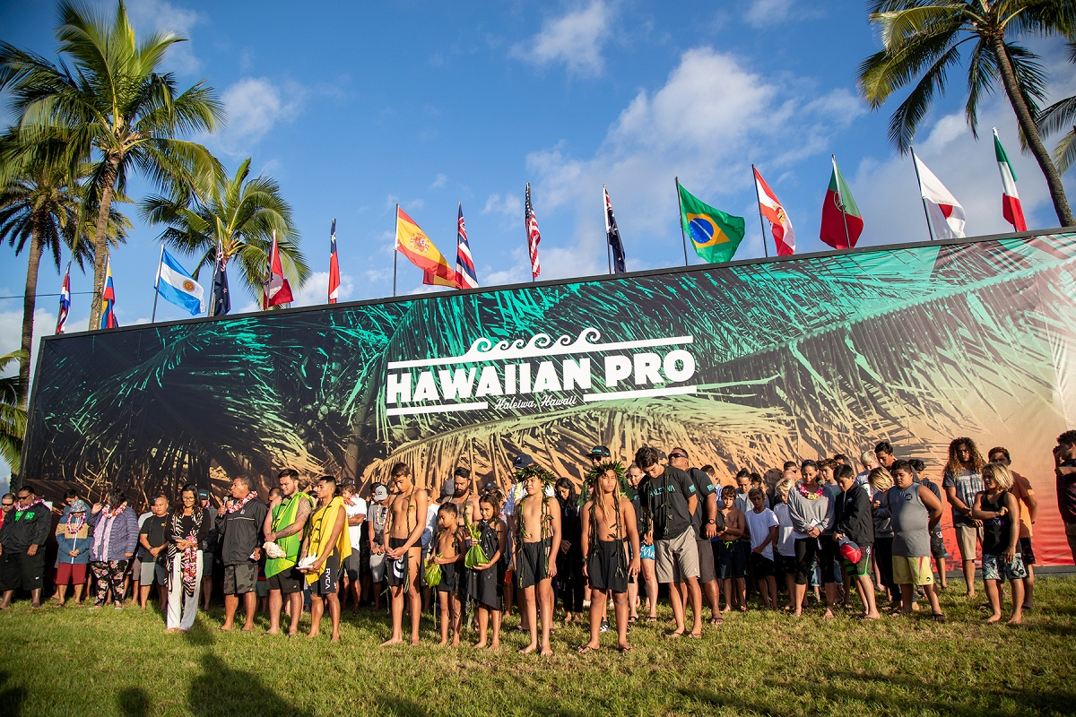 Opening Day of Vans Triple Crown of Surfing Called ON