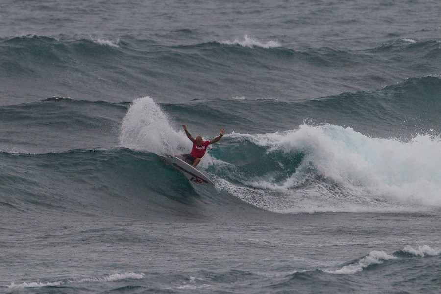 Kelly Slater finished in equal 25th place.   © ASP / Kirstin